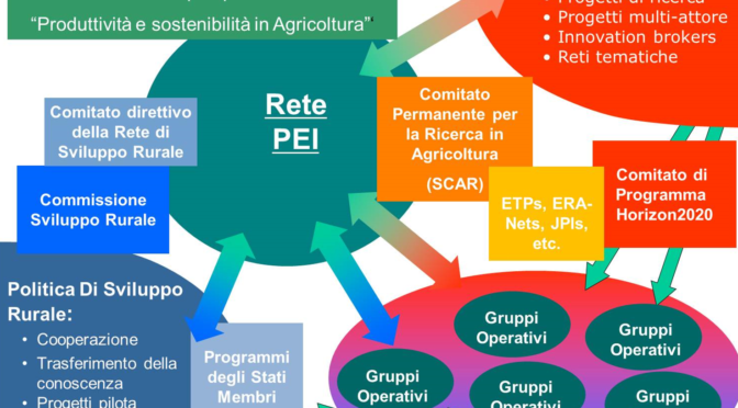 PSR 2014-2020 CONTRIBUTI PER COSTITUZIONE DI GRUPPI OPERATIVI E PROGETTI DI INNOVAZIONE