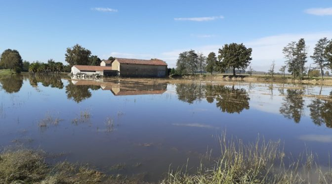 Alluvione 2 e 3 ottobre 2020, procedura per segnalazione danni